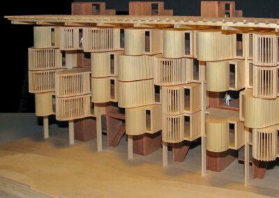 Arkitekturmodel af forslag til Carlsberg grunden