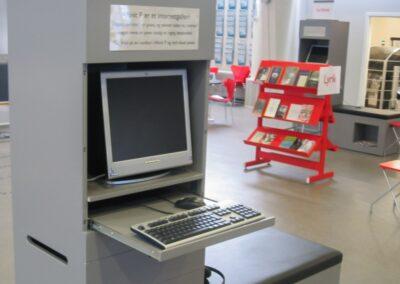 MOBILER i sprøjtelakeret MDF - Århus Kommune Bibliotek